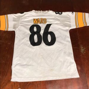 Hines Ward Pittsburgh Steelers Youth Boys Jersey M